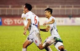 Hoàng Anh Gia Lai giành chiến thắng tại sân Thống Nhất sau 15 năm