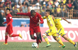 TRỰC TIẾP BÓNG ĐÁ Vòng 22 giải VĐQG V.League 2017: SLNA - CLB Hải Phòng (17h00, VTV6)
