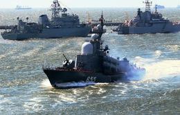 Nga tập trận tại biển Baltic