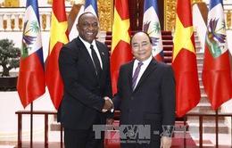 Thủ tướng tiếp Chủ tịch Thượng viện Haiti