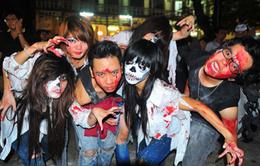 Tưng bừng không khí đón lễ Halloween tại TP.HCM