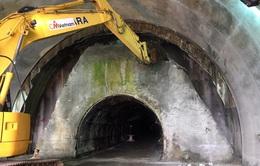 Đóng hầm Hải Vân 30 phút/ngày để thi công hầm mới
