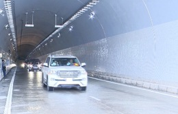 Cận cảnh hầm đường bộ Đèo Cả ngày thông xe