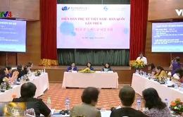 Phụ nữ Việt Nam - Hàn Quốc trao đổi kinh nghiệm bình đẳng giới
