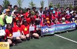 Giải bóng đá Mùa Xuân Gachon dành cho nữ sinh viên Việt Nam tại Hàn Quốc