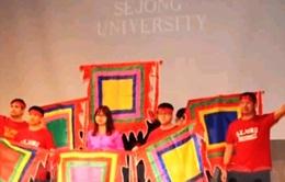 """""""Đêm văn hóa Việt Nam"""" của sinh viên Đại học Sejong Hàn Quốc"""