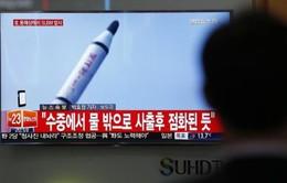 Triều Tiên xác nhận thử thành công tên lửa đạn đạo