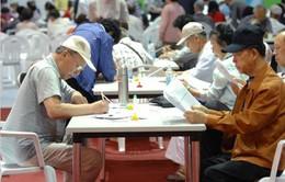 Nhiều người già trên 75 tuổi ở Hàn Quốc vẫn phải mưu sinh