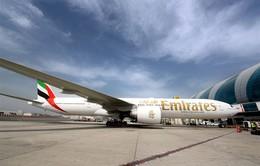 Hãng hàng không Emirates cho phép dùng thiết bị điện tử trước khi lên máy bay