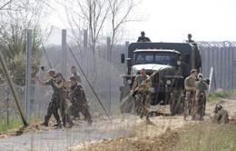 Hungary dựng hàng rào chặn người nhập cư