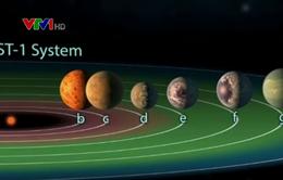 Những phát hiện về 7 hành tinh có thể có điều kiện cho sự sống