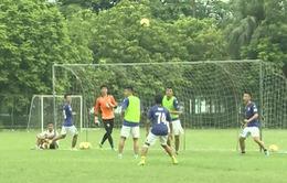 CLB Hà Nội chuẩn bị cho trận đấu gặp Sanna Khánh Hòa Biển Việt Nam