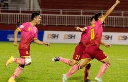 VIDEO CLB Hà Nội 2-2 CLB Sài Gòn: Màn rượt đuổi tỉ số mãn nhãn