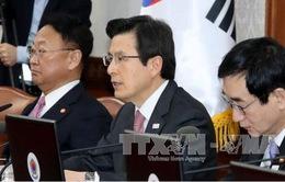 Quyền Tổng thống Hàn Quốc tuyên bố không ra tranh cử