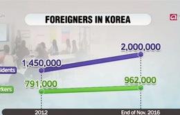 Người nhập cư - Giải pháp cho tình trạng dân số già tại Hàn Quốc