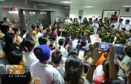 Sinh viên Đại học PCCC mang âm nhạc đến bệnh viện