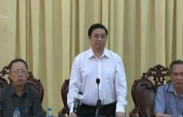 Trưởng Ban Tổ chức Trung ương thăm, chúc Tết lực lượng vũ trang tỉnh Hậu Giang