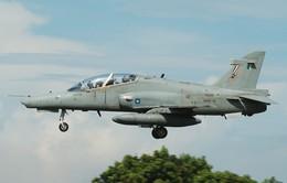 Malaysia tìm thấy xác máy bay huấn luyện Hawk 108 mất tích