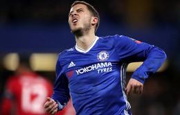 Chelsea mất Hazard dài ngày vì chấn thương