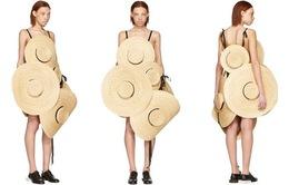 Váy làm từ mũ cói bán 70 triệu đồng vẫn đắt hàng