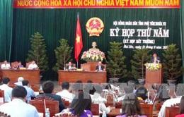 Kỳ họp thứ 5 HĐND tỉnh Phú Yên khóa VII thông qua nhiều Nghị quyết quan trọng