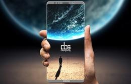 Cảm biến vân tay trên màn hình Galaxy Note 8 có thể gây mất cân bằng đến độ sáng