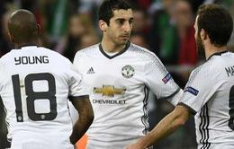 Bốc thăm vòng 1/8 Europa League: Man Utd phải hành quân tới Nga