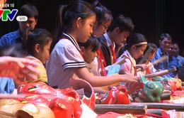 Đà Nẵng: Ngày hội mổ heo đất giúp bạn đến trường