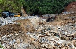 Hà Giang: Nhiều tuyến đường giao thông bị sạt lở nghiêm trọng do mưa lớn
