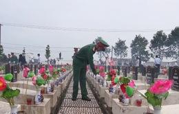Bàn giao công trình trùng tu Nghĩa trang liệt sỹ tỉnh Hậu Giang