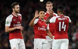Lịch thi đấu Europa League rạng sáng mai (29/9): Arsenal đua marathon, Everton lo lắng