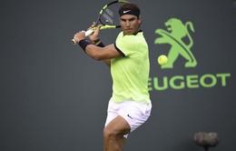 Vòng 4 Miami mở rộng 2017: Nadal nhọc nhằn vượt ải Mahut