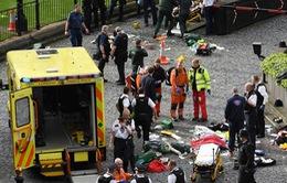 Khủng bố ngoài tòa nhà Quốc hội Anh: Ít nhất 5 người chết, 40 người bị thương