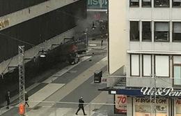 Khủng bố bằng xe tải ở Thụy Điển: 2 người bị bắt giữ chưa chắc là thủ phạm
