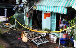 Cháy nhà trọ ở quận 9 trong đêm, hai bà cháu tử vong