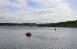 Lật thuyền ở Đăk Lăk, 3 người chết và mất tích