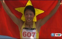 Bùi Thị Thu Thảo xuất sắc giành HCV nhảy xa nữ