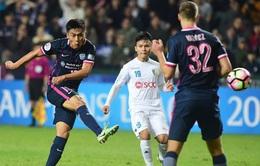 Thất bại đáng tiếc trước Kitchee, CLB Hà Nội chia tay AFC Champions League