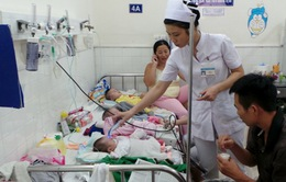 Trẻ em bị nhiễm trùng hô hấp có tỷ lệ tử vong cao