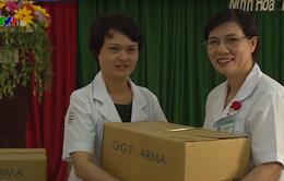 Hỗ trợ thiết bị y tế cho người dân vùng bão lũ Khánh Hòa