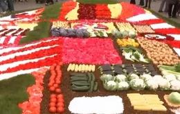 Rực rỡ triển lãm hoa tại quảng trường Grand Place (Bỉ)