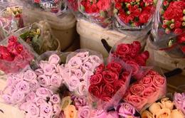 Giá hoa Đà Lạt tăng mạnh sau ảnh hưởng của bão số 12
