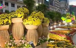 Nhờ chất lượng tốt, đường hoa Nguyễn Huệ được mở cửa thêm 1 ngày