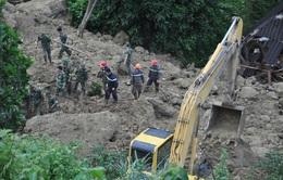 Hòa Bình tiếp tục tìm kiếm nạn nhân mất tích vụ sạt lở đất