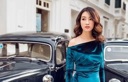 Hoa hậu Mỹ Linh gợi cảm trong bộ ảnh mới