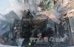 Hỏa hoạn thiêu rụi 3 căn nhà ở TP Long Xuyên - An Giang