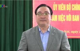 Bí thư Thành ủy Hà Nội chỉ đạo đẩy nhanh tiến độ dự án metro Hà Nội