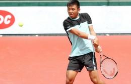 Lý Hoàng Nam đánh bại hạt giống số 5 của giải tại Trung Quốc F2 Futures
