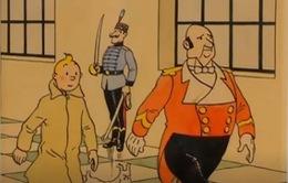 Bức tranh thám tử Tintin được đấu giá tại Paris