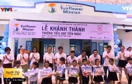 Sunflower Mission 15 năm xây trường học tại Việt Nam